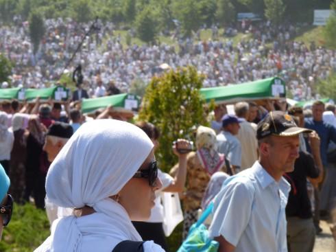 Burial and commemoration Potocari 2010